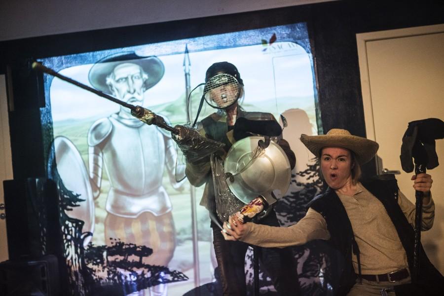Don Quijote - killar säljer moment:teater 2015